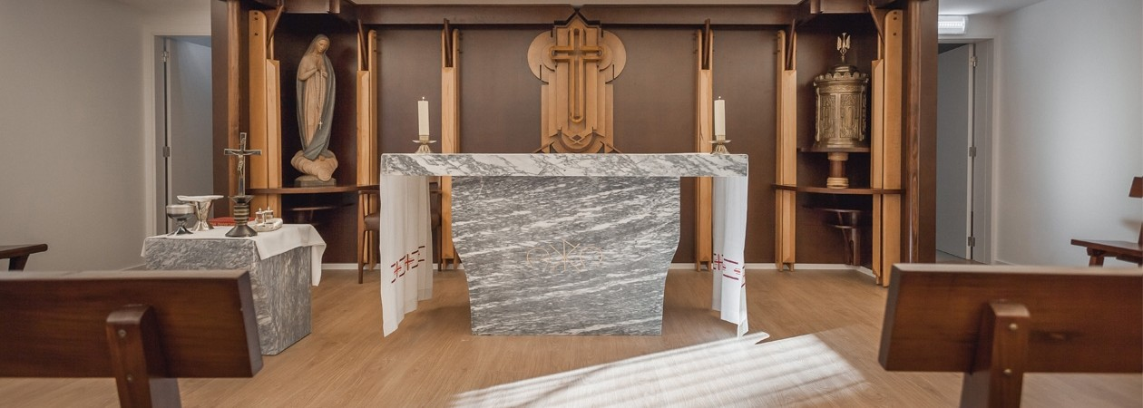 Chapel - Keeping the entire layout of the Seminary Chapel, the Essence Inn Marianos Chapel is a strong link between past and present, bringing the essence and charisma of the Marians to the present hotel.