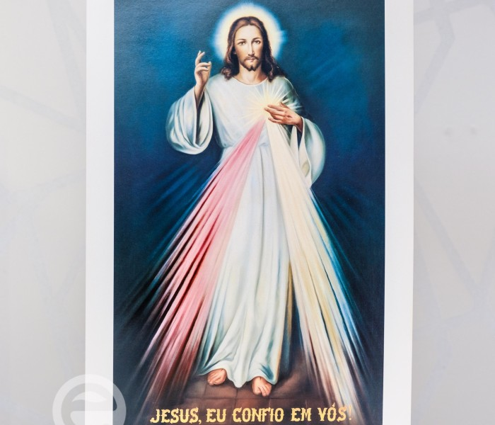 Estampa Jesus Misericordioso